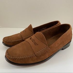 Cole Haan Resort Suede Moccasin Penny Loafers